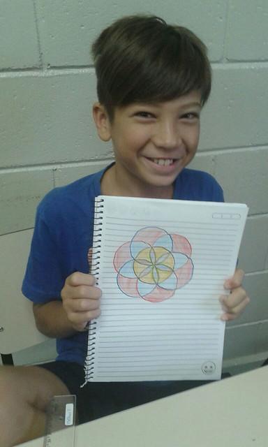 Desenhando com o compasso