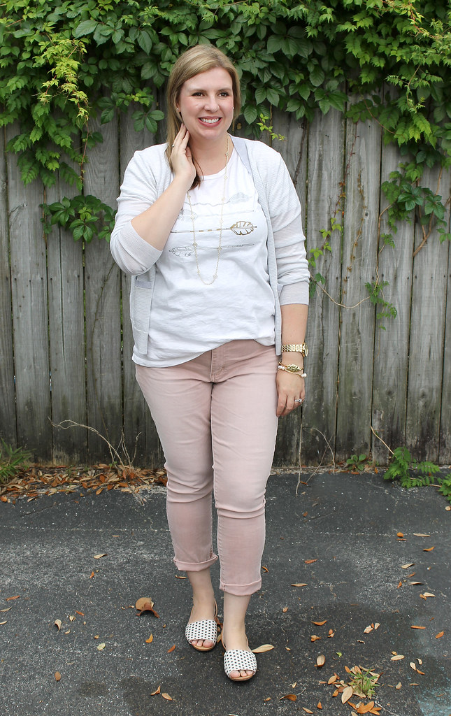 blush jeans dot shoes 2