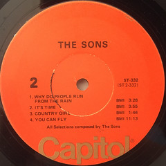THE SONS:THE SONS(LABEL SIDE-B)