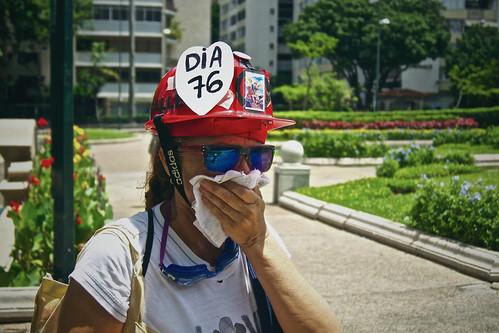 FOTOS | Lanzan lacrimógenas en alrededores de la plaza Altamira
