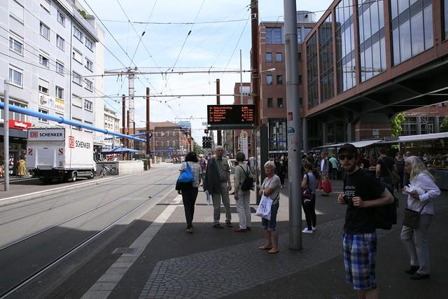 Wegbeschreibung von Kronenplatz (Kaiserstraße)