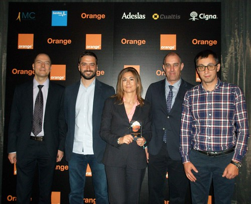COMSA Industrial receives recognition at the Orange Occupational Risk Prevention Awards