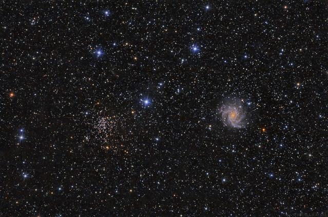 VCSE - Szupernóva robbanás a Tűzijáték galaxisban - NGC 6946 + SN2017 - Schmall Rafael
