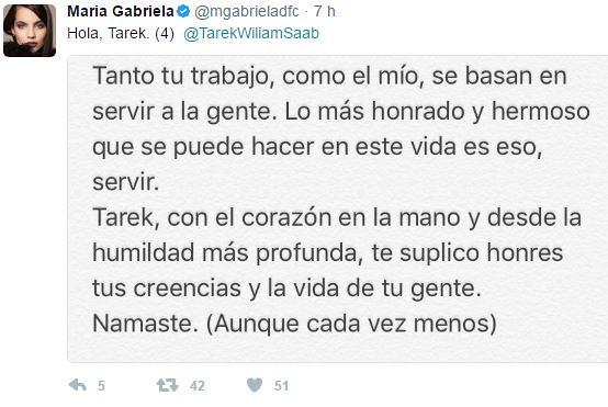 Captura 4 (María Gabriela De Faría le escribió al Defensor del Pueblo)