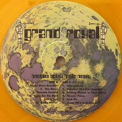 BEASTIE BOYS:HELLO NASTY(LABEL SIDE-B)