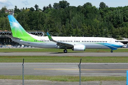 Boeing 737-8AL(WL) Saudi Aramco N803XA LN6411