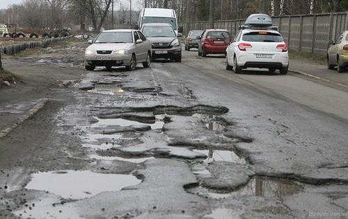 Україна — серед країн з найгіршими в світі дорогами