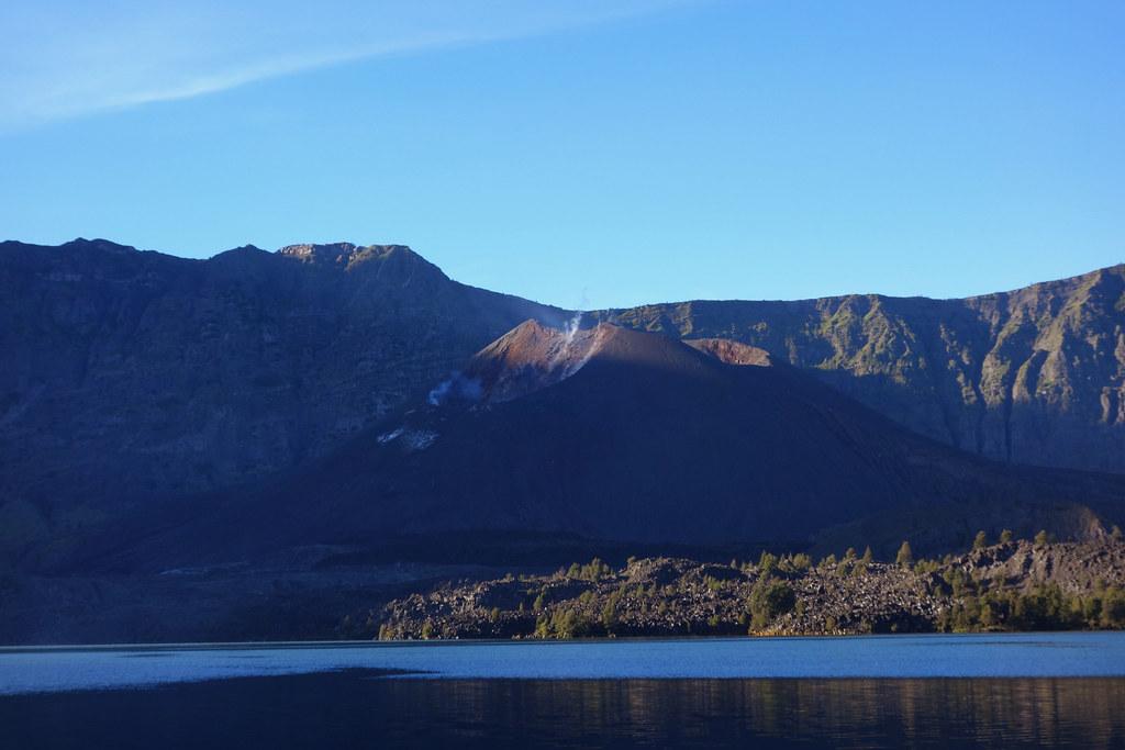 Rinjani - Jour 3 - Lac Cratere - Sunrise
