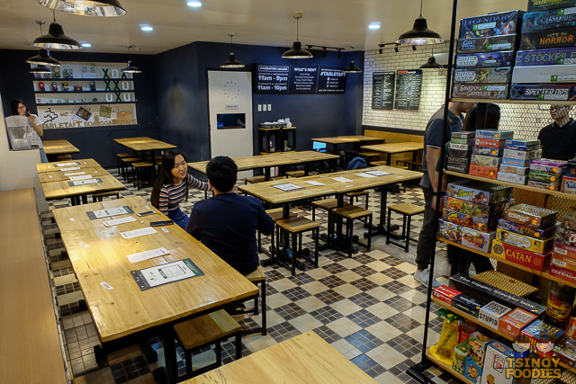 table taft boardgame cafe