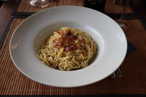 Spaghetti mit Guanciale