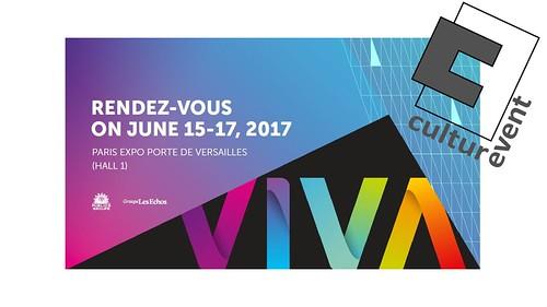 Culturevent.fr sera présent au Vivatech de 2017