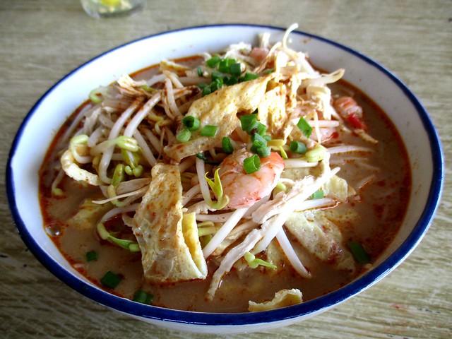 Delta Seafood & Cafe Sarawak laksa