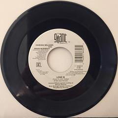 VANESSA WILLIAMS AND BRIAN MCKNIGHT:LOVE IS(RECORD SIDE-B)