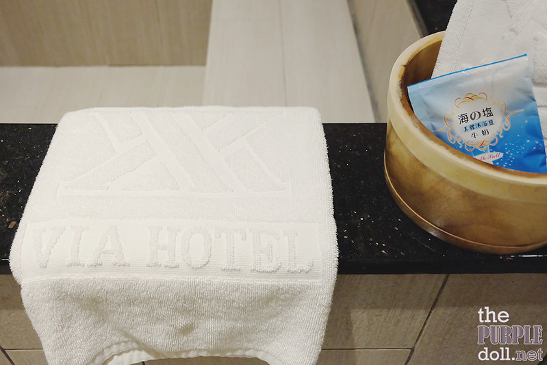 VIA Hotel Ximending Zen-style Bath