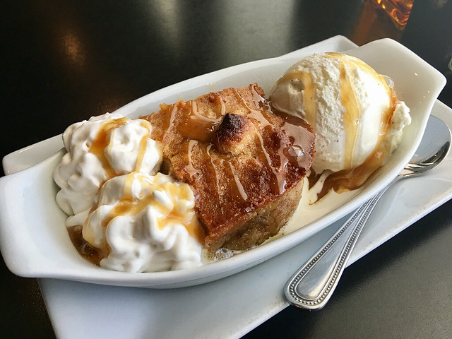 Martin's Downtown Bar & Grill - Bread Pudding