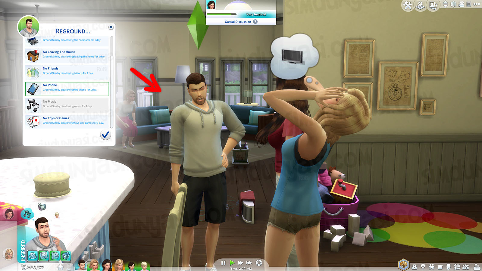 The Sims 4 Parenthood Ebeveynlik Paketi Reground