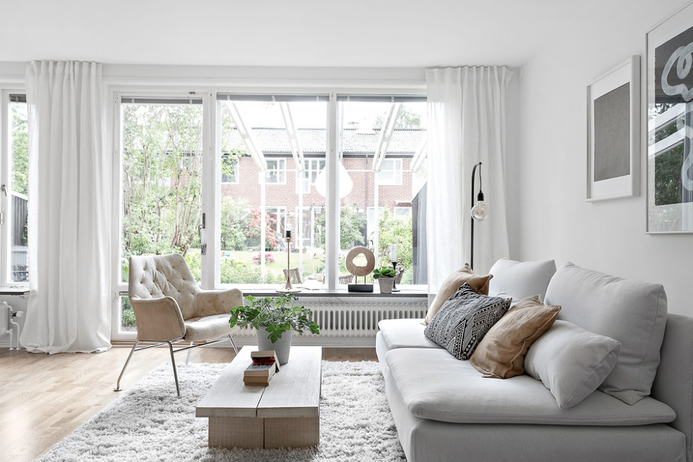 Fresh Scandinavian Home Filled with Natural Light