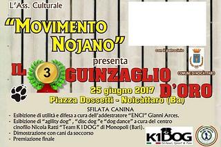 Noicattaro. Guinzaglio d'Oro 2017 front