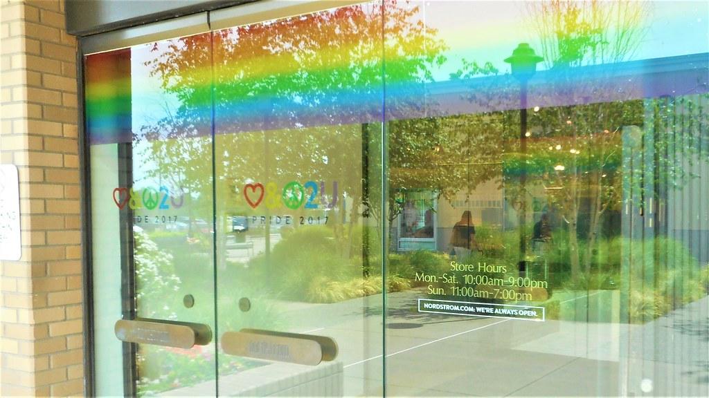 Nordstrom Northgate Store Promoting Gay Pride Celebration Flickr