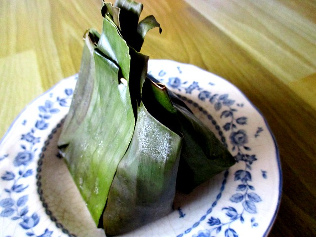 Steamed kueh