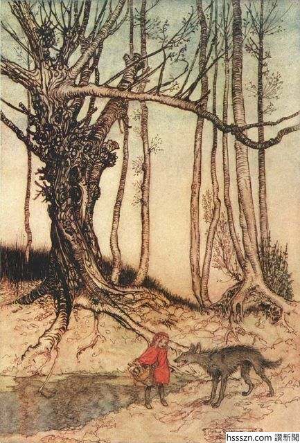 Arthur_Rackham_Little_Red_Riding_Hood-433x640_433_640