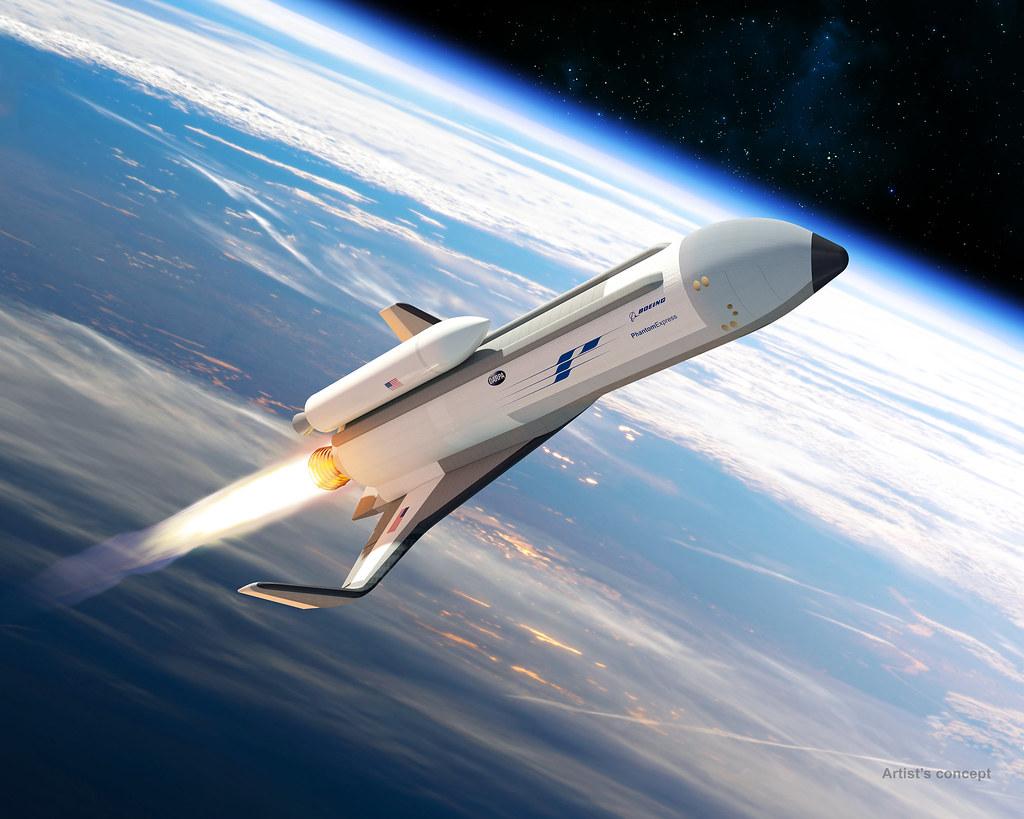X-37B Military Spaceplane 34027487804_1680cace86_b