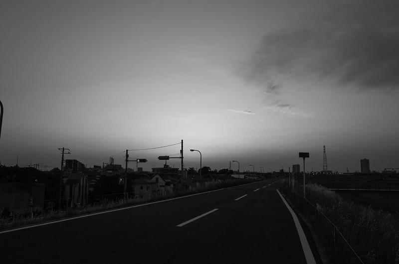 edogawa sunset