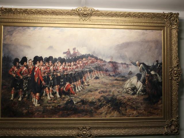 castelul stirling muzeul regimentului 1