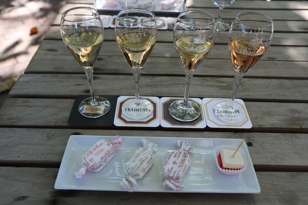 Villiera Bubbly and Nougat Pairing