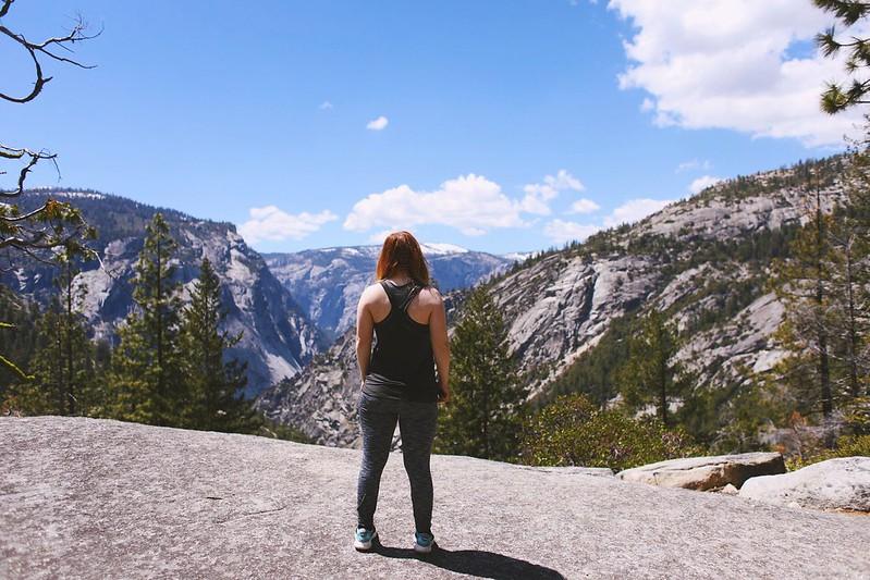 At Yosemite National Park