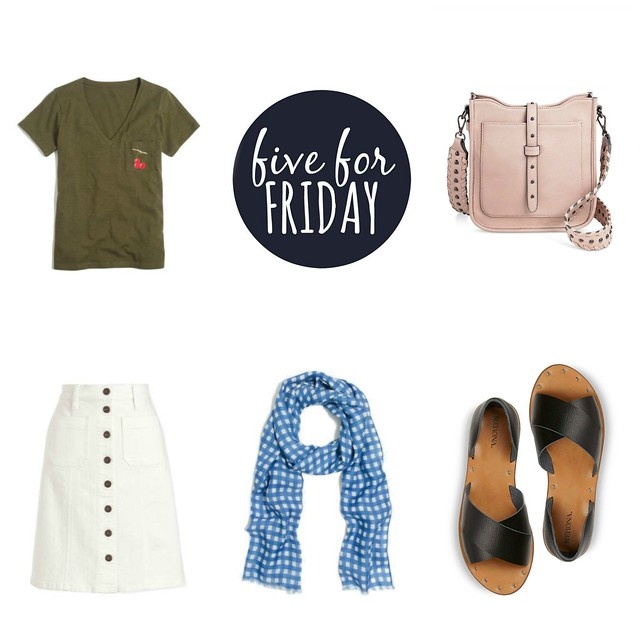 five for friday some fine summer finds | Style On Target blog