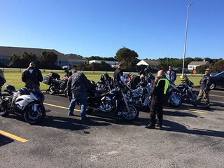 How one Coast Guardsman teaches motorcyclists to BikeSafe