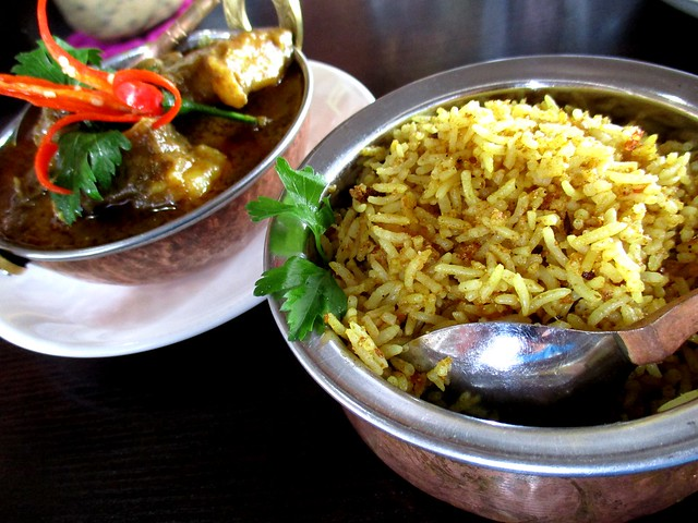 Cafe Ind mutton masala & bryani rice