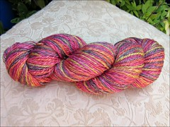 Sunset handspun