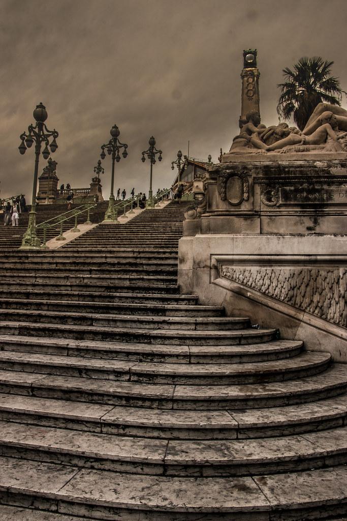 escalier de la gare saint charles marseille jean fran ois altero flickr. Black Bedroom Furniture Sets. Home Design Ideas