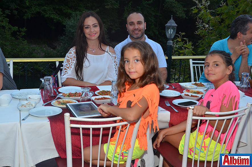 Çiğdem Gürhan, Tolga Gürhan ve çocukları