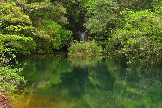 八丈島・硫黄沼