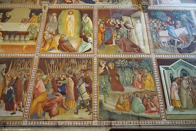 Dom innen Fresken