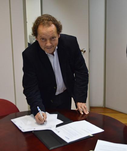 Acordo de Cooperação - Metodista e Católica Maulé (Chile)