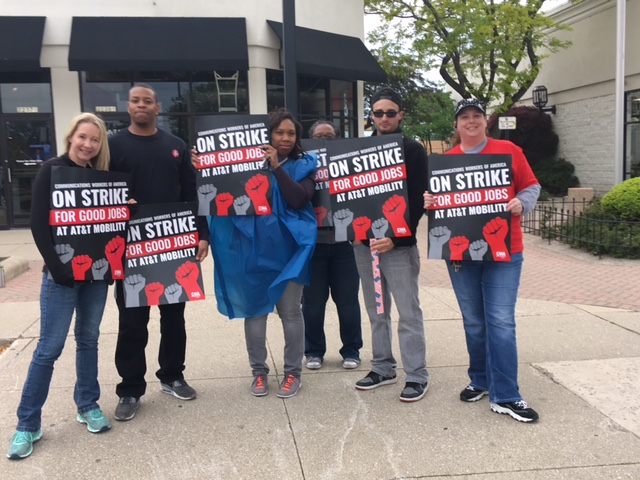 AT&T Strike