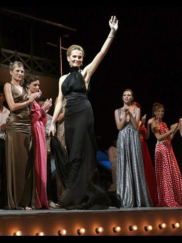 Vera Radanović fashion show took place at the Guca Trumpet Festival on 10th  August 2007.  60000 people were present at the event. Fashion designer Vera Radanovic | by Vera Radanovic