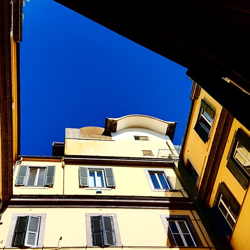 Roma: la vista dall'ufficio