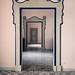 Matching doorways, Villa Rufolo, Ravello, Italy
