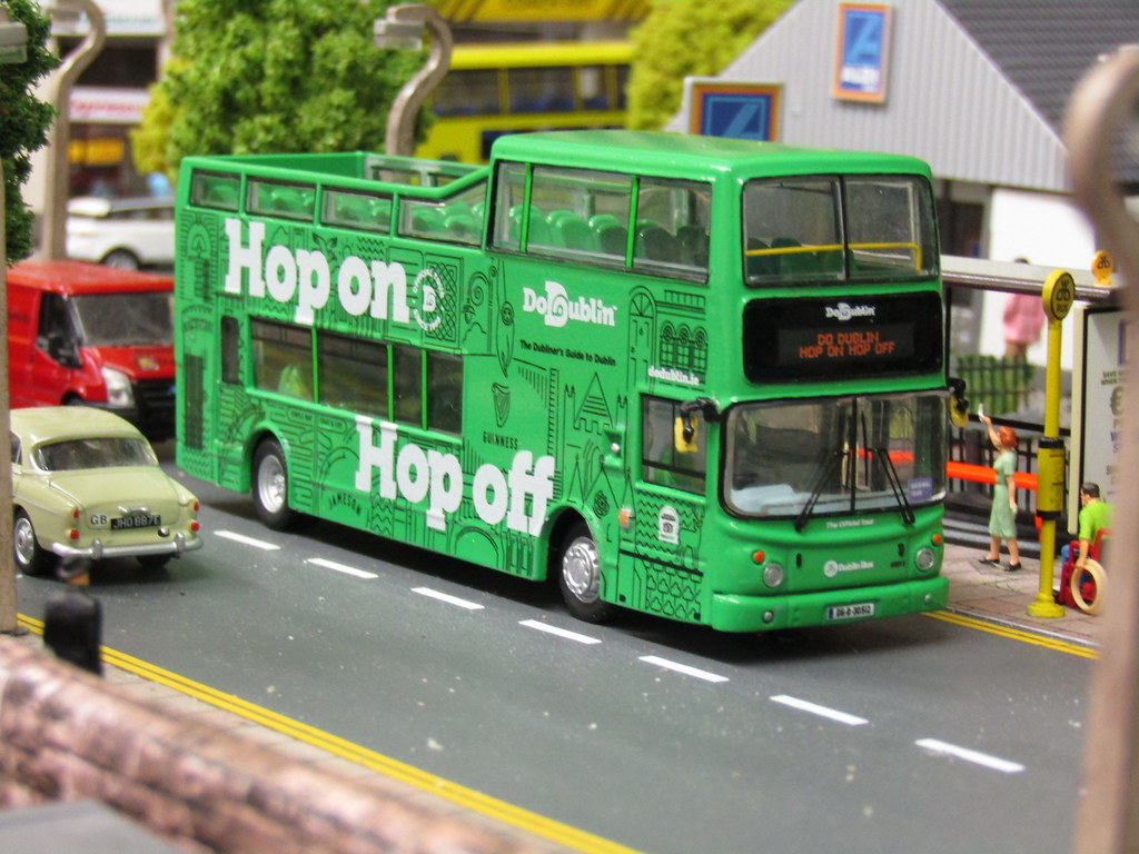 ... Dublin Bus DoDublin Hop On Hop Off Tour AX512 Modelled Here In Its New  Livery |