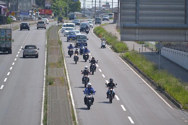 ヤマハバイク ツーリング