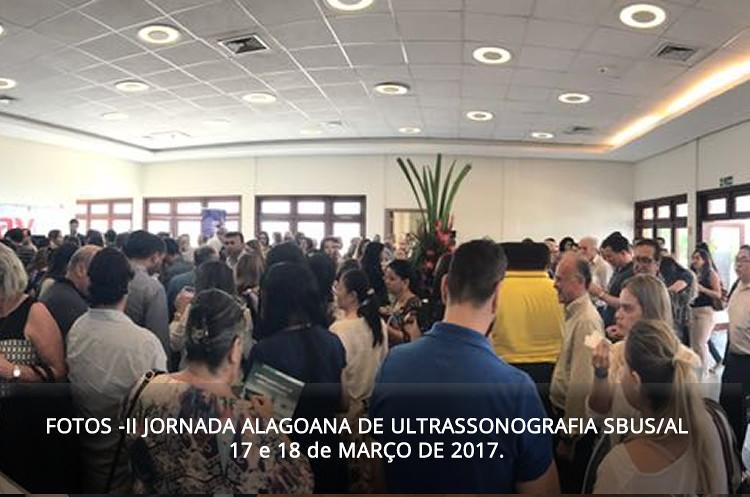 II Jornada Alagoana de Ultrassonografia da SBUS/AL