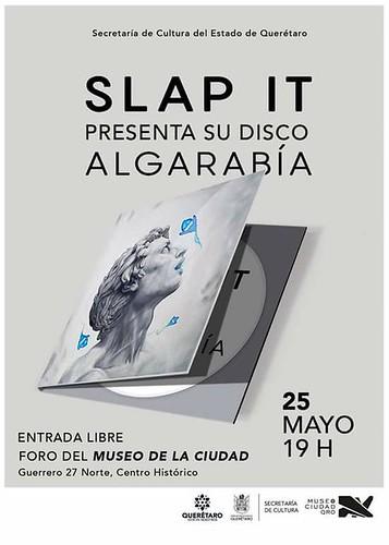 Algarabía | Nuevo disco Slap It