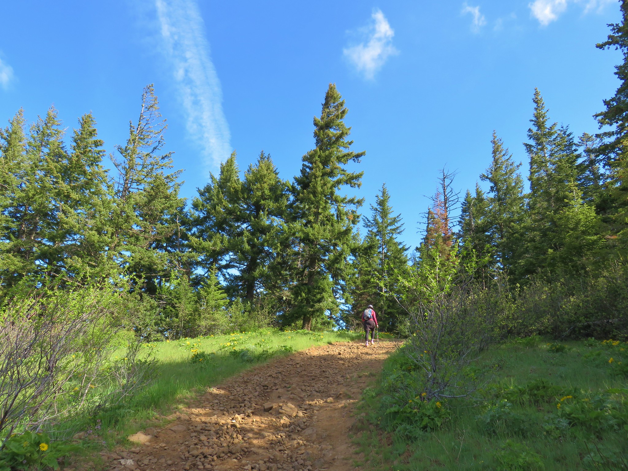 Heading toward Bald Butte