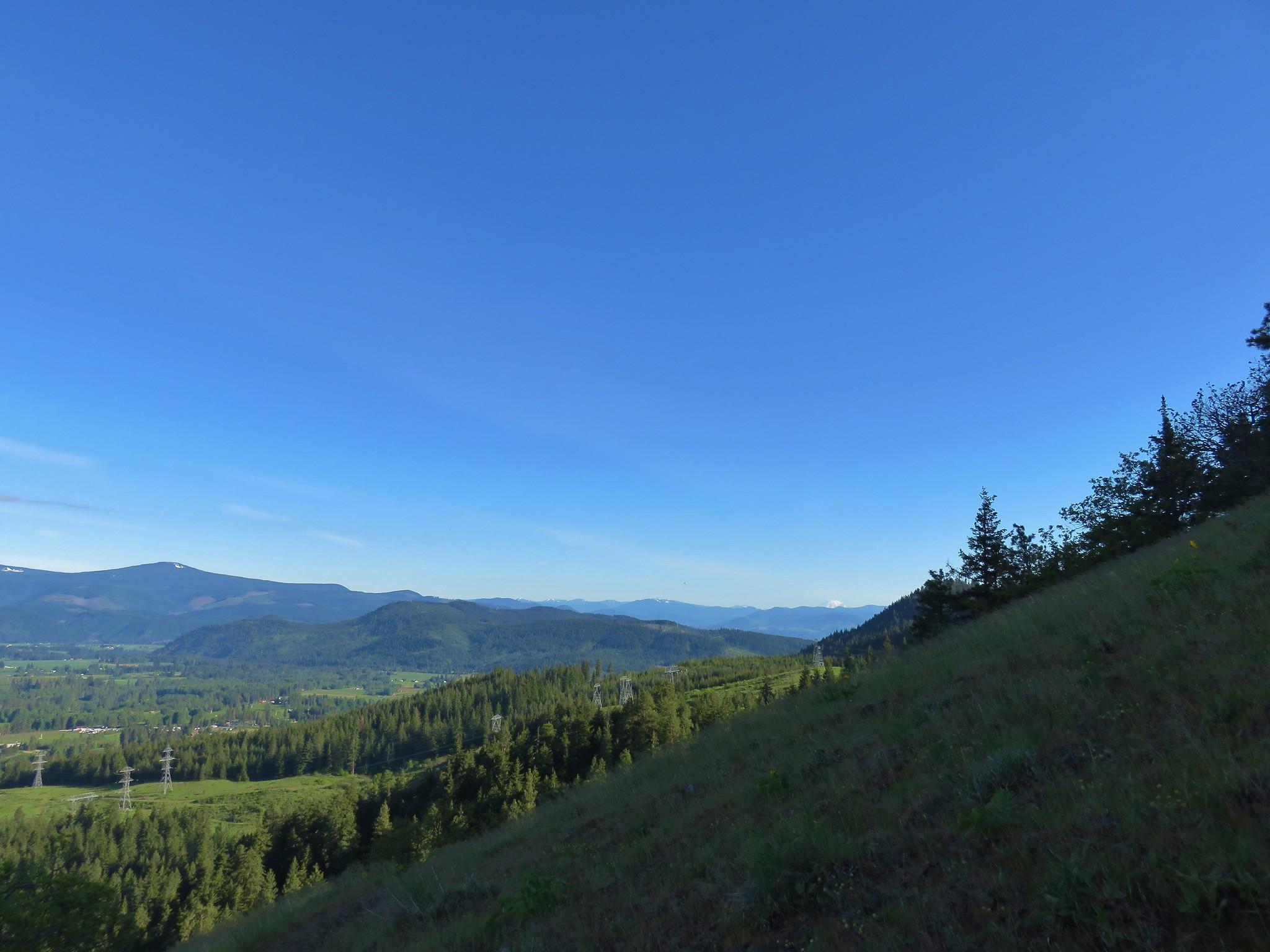 Mt. Rainier in the distance
