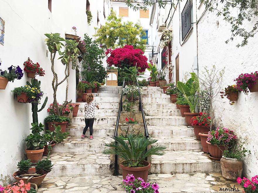 calles floreadas
